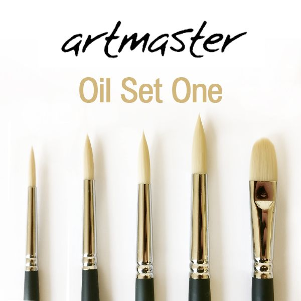 Artmaster Oil Brush Set One