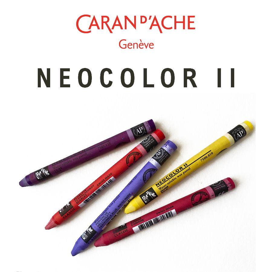 Royaume-Uni disponibilité f7007 dc0d2 Caran D'Ache Neocolor II Artists' Water Soluble Crayons