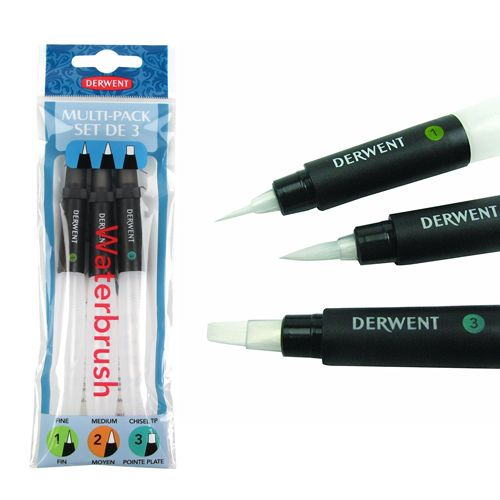 Derwent Waterbrush Multi-Pack
