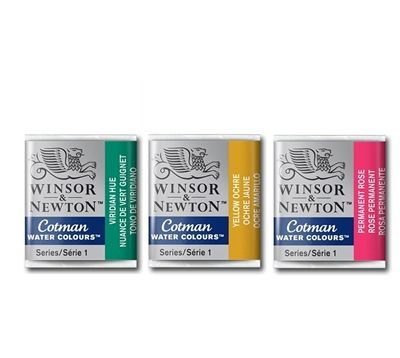 Winsor and Newton Cotman Watercolours Half Pans