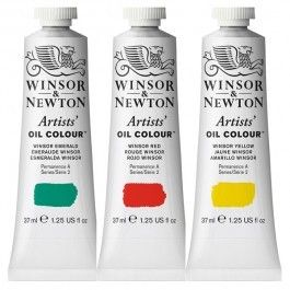 Winsor & Newton Artists' Oil Paint 37ml Tubes