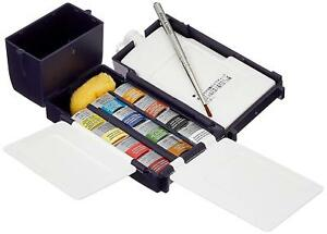 Winsor & Newton Professional Watercolour Half Pan Field Box
